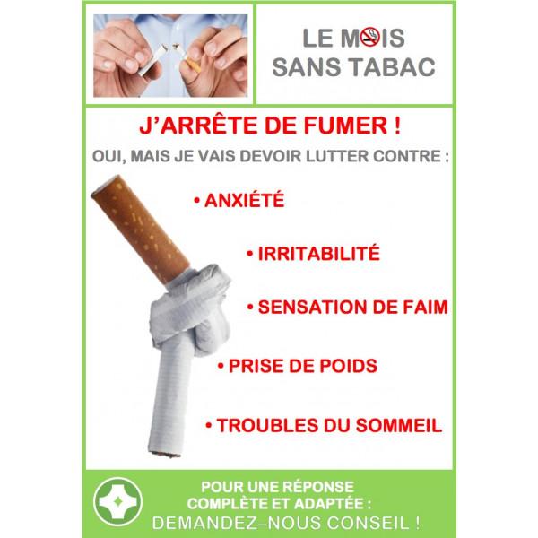 Affiche comptoir SERENAE Tabac