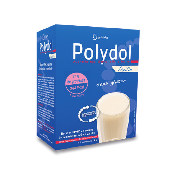 POLYDOL Vanille - Boite 6 Sachets