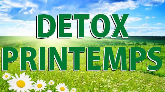 Detox printemps