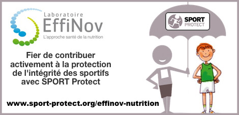 Laboratoire EffiNov Nutrition garantis ses produits antidopage