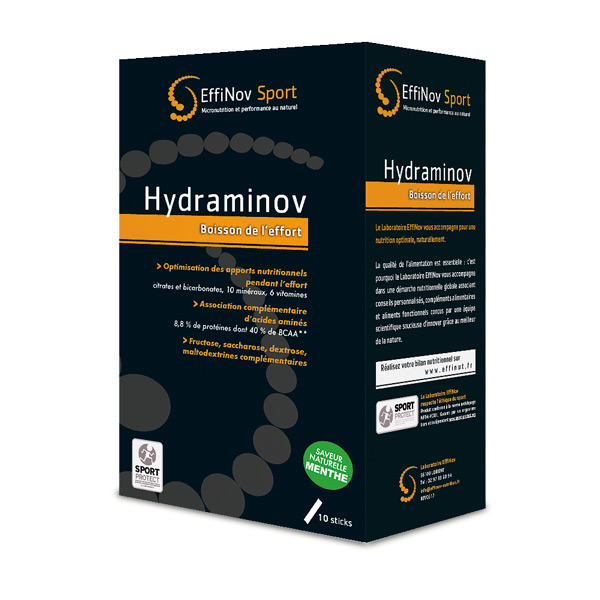 Hydraminov Boisson Effort Menthe