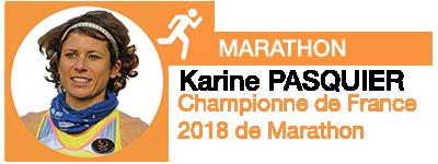 Karine PASQUIER, partenaire sportif 2019 EFFINOV SPORT