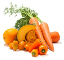 Alimentation soleil caroténoides