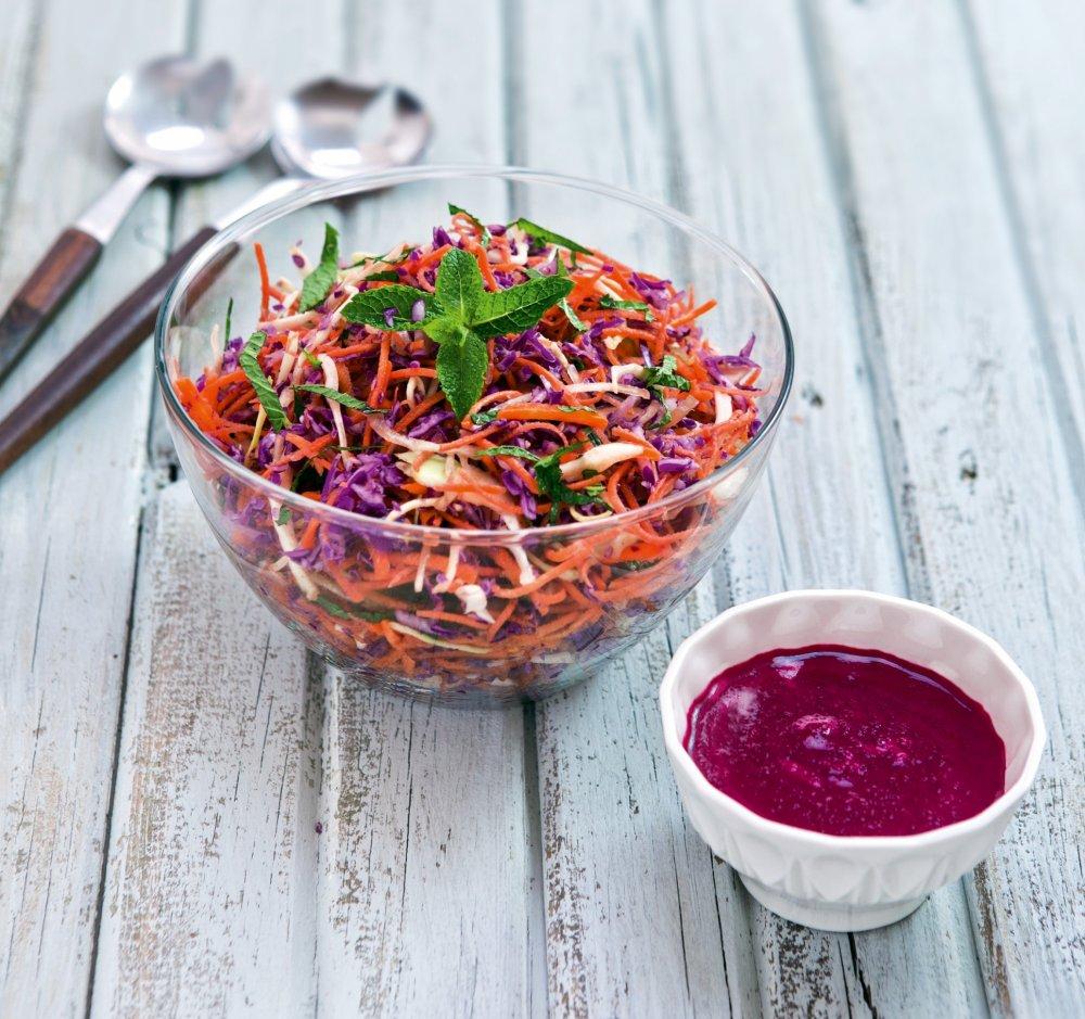 Salades de carottes et betteraves