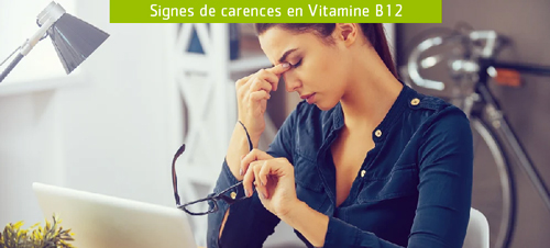 Carence Vitamine B12 : fatigue