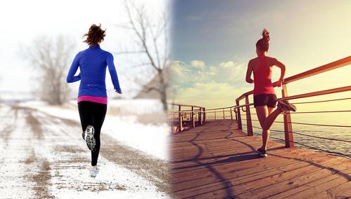 Alimentation sportive adaptée aux variations de températures