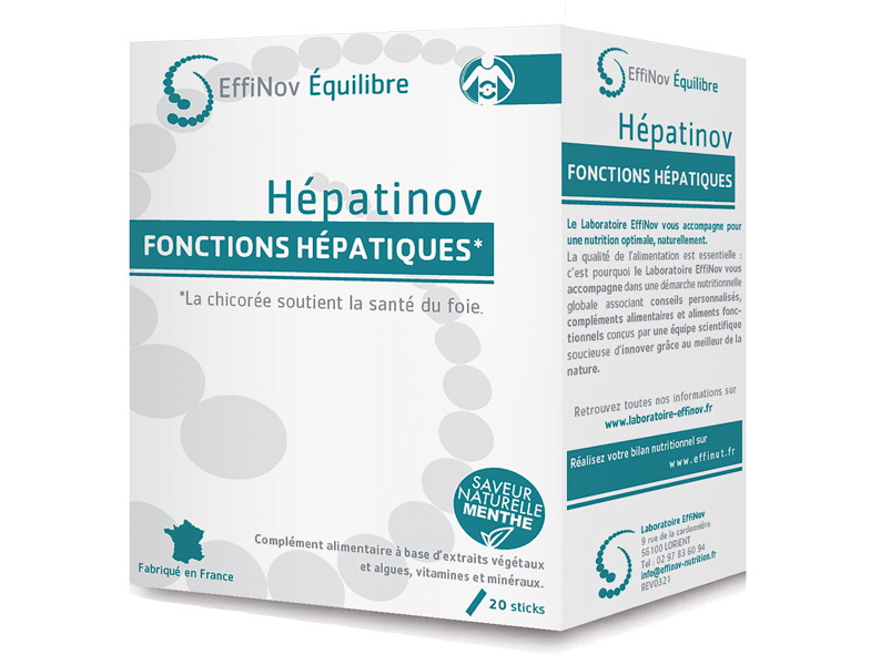 HEPATINOV - 20 sticks