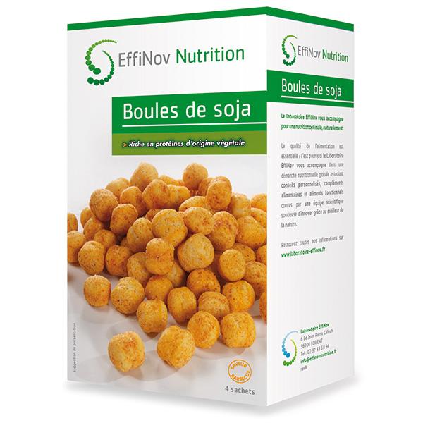 Boules de soja